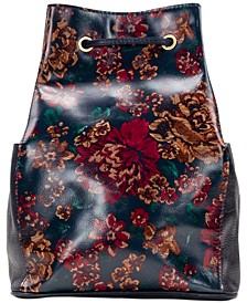 Fall Tapestry Tierce Sling Backpack