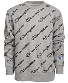Champion Big Boys Printed Fleece Sweatshirt
