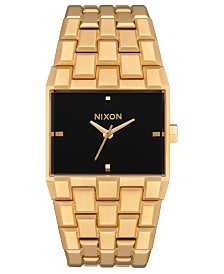 Nixon Women's Ticket Stainless Steel Bracelet Watch 34mm