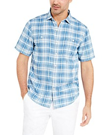 Men's Desert Duo Plaid Shirt
