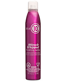It's a 10 Miracle Whipped Finishing Spray, 10-oz., from PUREBEAUTY Salon & Spa