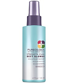 Pureology Strength Cure Best Blonde Miracle Filler Treatment, 4.9-oz., from PUREBEAUTY Salon & Spa