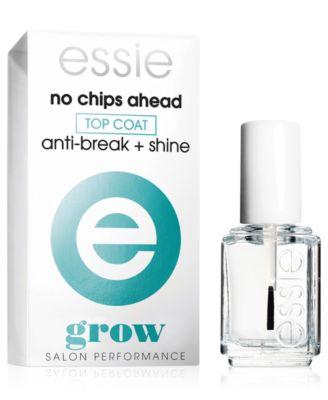 nail care, no chips ahead