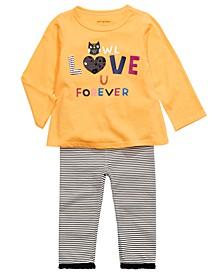 Baby Girls T-Shirt & Leggings, Created For Macy's