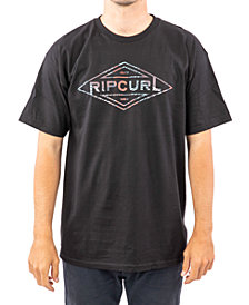 Rip Curl Men's Palm Tubes Logo Graphic T-Shirt
