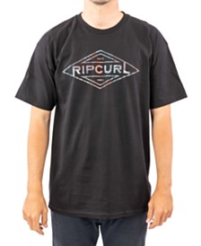 Rip Curl Men's Palm Tubes Logo Graphic T-Shirt