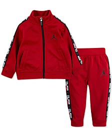 Baby Boys 2-Pc. Track Jacket & Jogger Pants Set