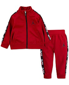 Jordan Baby Boys 2-Pc. Track Jacket & Jogger Pants Set