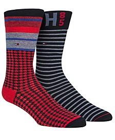 Men's 2-Pk. Printed Socks