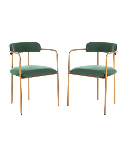 Furniture Camille Side Chair, Quick Ship (Set of 2)