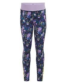 Big Girls Floral-Print Leggings
