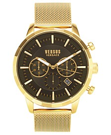 Men's Chronograph Eugene Gold-Tone Stainless Steel Bracelet Watch 46mm