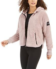 Drop-Shoulder Fleece Jacket