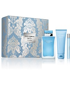 DOLCE&GABBANA 3-Pc. Light Blue Eau Intense Gift Set