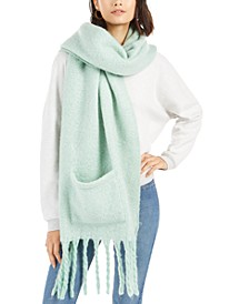 Soft Muffler Scarf With Pockets