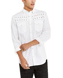 INC Men's Grommet Shirt, Created For Macy's