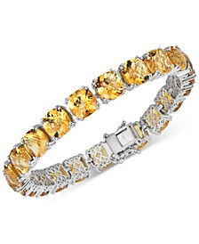 Citrine Statement Bracelet (40 ct. t.w.) in Sterling Silver