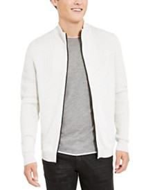 I.N.C. Men's Samuel Zip-Front Cardigan, Created For Macy's