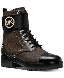 Tatum Combat Boots
