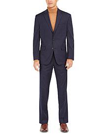 Club Room Men's Classic-Fit Pinstripe Suit