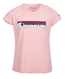Champion Big Girls Logo-Print T-Shirt