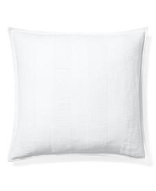 "Eva Open-Weave 20"" Square Decorative Throw Pillow"