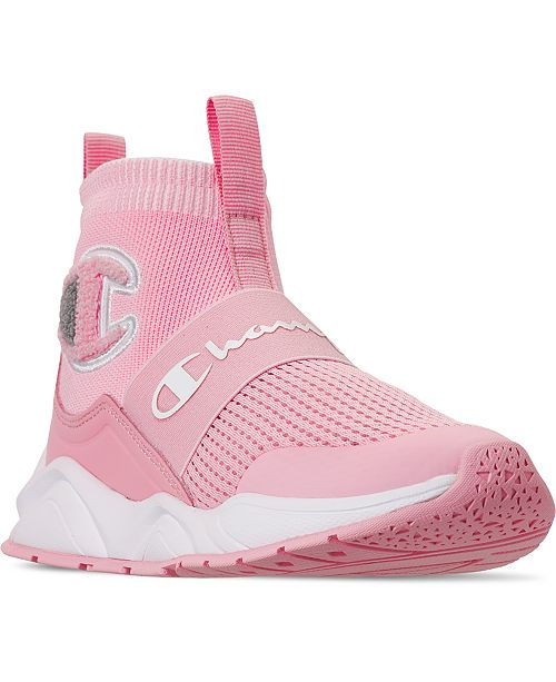 Champion Little Girls Rally Pro Casual Athletic Sneakers from Finish Line