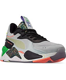 Men's RS-X Fourth Dimension Casual Sneakers from Finish Line