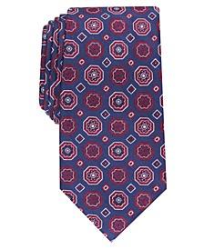 Men's Classic Medallion Silk Tie, Created For Macy's