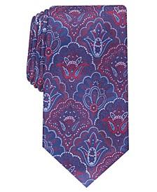 Men's Classic Paisley Silk Tie, Created For Macy's
