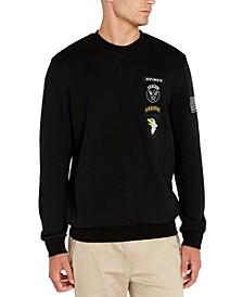 Men's Military Patch Sweatshirt