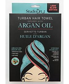 Turban Hair Towel Infused with Argan Oil