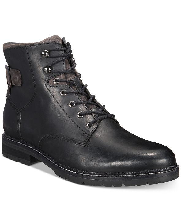 Alfani Men's Syd Leather Casual Boots, Created for Macy's