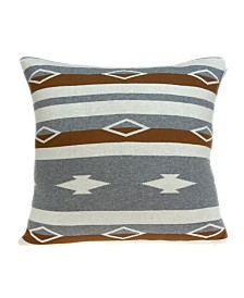Parkland Collection Mado Southwest Tan Pillow Cover With Down Insert