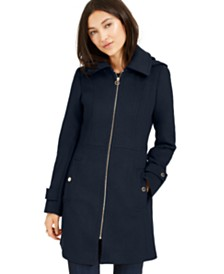 Michael Michael Kors Hooded Coat, Created For Macy's