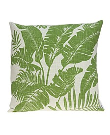 Canary Tropical Green Pillow Cover
