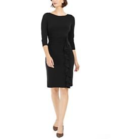 Jessica Howard Ruffled Sheath Dress