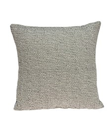 Simon Transitional Beige Pillow Cover