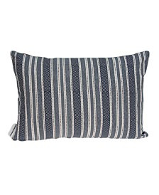 Parkland Collection Oceana Nautical Blue Pillow Cover