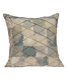 Sota Transitional Multicolor Pillow Cover With Down Insert