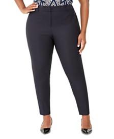 Calvin Klein Plus Size Slim-Leg Pants