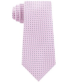 Men's Classic Mini-Cube Silk Tie
