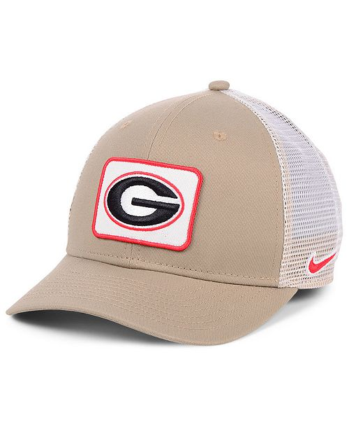 Nike Georgia Bulldogs Patch Trucker Cap