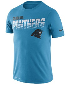Nike Men's Carolina Panthers Sideline Legend Line of Scrimmage T-Shirt