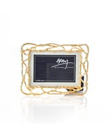 "Michael Aram Wisteria Gold 4X6"" Frame"