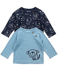 Baby Boy 2-Pack Raglan Tees