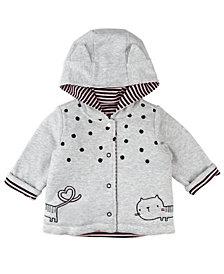 Mac & Moon Baby Girl Hooded Jacket