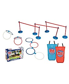American Ninja Warrior™ 37 Pc Obstacle Course Race Outdoor Play Set For Kids