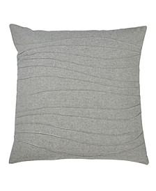 "Pintucked Throw Pillow, 20"" x 20"""