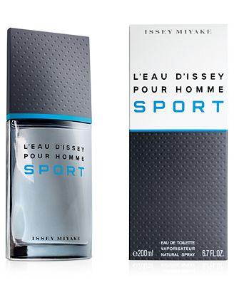 Issey Miyake L'Eau d'Issey Pour Homme Sport Eau de Toilette, 6.7 oz